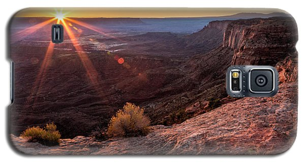 Canyon Country Sunrise Galaxy S5 Case