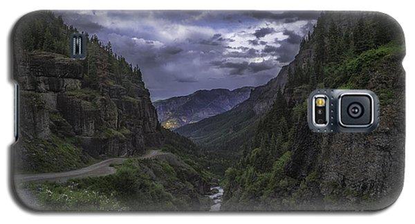 Canyon Creek Sunset Galaxy S5 Case