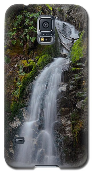 Canyon Falls - Big Sur Galaxy S5 Case by Stephen  Vecchiotti
