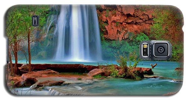 Canyon Falls Galaxy S5 Case by Scott Mahon