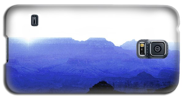 Canyon In Blue Galaxy S5 Case