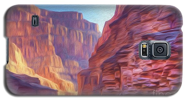 Canyon Light Galaxy S5 Case by Walter Colvin