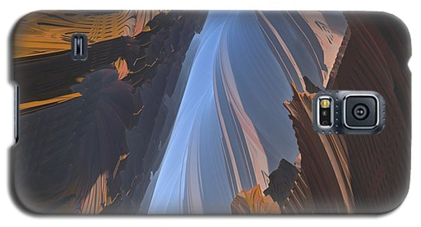 Galaxy S5 Case featuring the digital art Canyon by Lyle Hatch