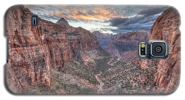 Canyon Overlook Galaxy S5 Case