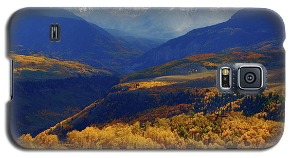 Galaxy S5 Case featuring the photograph Canyon Shadows And Light From Last Dollar Road In Colorado During Autumn by Jetson Nguyen
