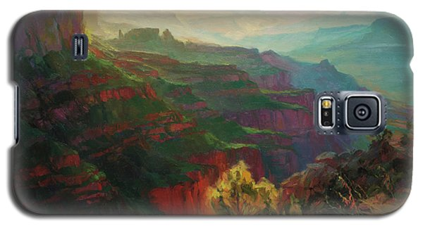 Grand Canyon Galaxy S5 Case - Canyon Silhouettes by Steve Henderson