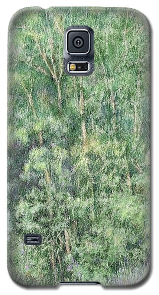 Canyon Trees Colorized Galaxy S5 Case