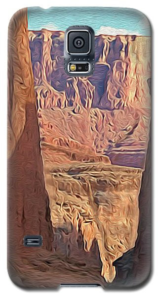 Canyon Walls Galaxy S5 Case by Walter Colvin