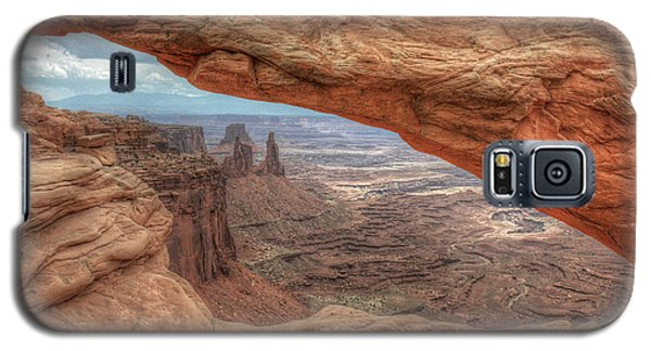 Canyonlands From Mesa Arch Galaxy S5 Case