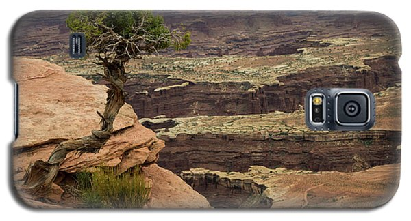 Galaxy S5 Case featuring the photograph Canyonlands by Gary Lengyel