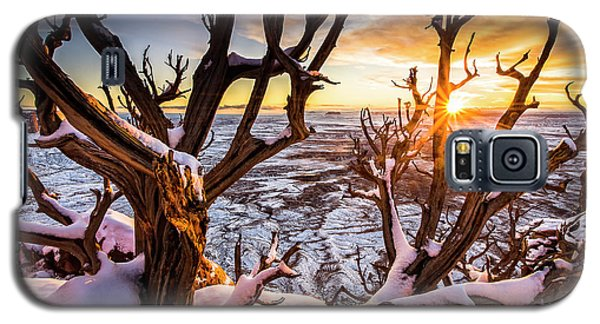 Canyonlands Winter Sunset Galaxy S5 Case