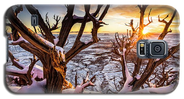 Canyonlands Winter Sunset Galaxy S5 Case