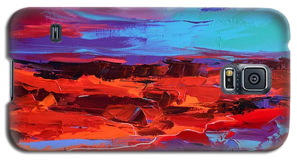Canyon At Dusk - Art By Elise Palmigiani Galaxy S5 Case