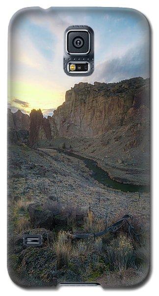 Canyon's Falling Daylight Galaxy S5 Case by Ryan Manuel