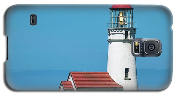 Cape Blanco Lighthouse At Cape Blanco, Oregon Galaxy S5 Case