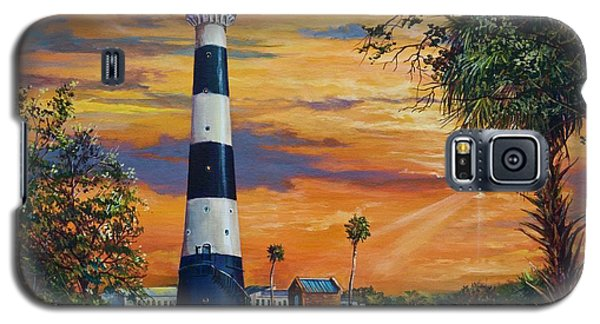 Cape Canaveral Light Galaxy S5 Case by AnnaJo Vahle
