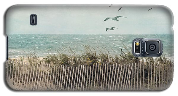 Cape Cod Beach Scene Galaxy S5 Case