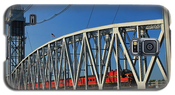 Cape Cod Canal Railroad Bridge Train Galaxy S5 Case