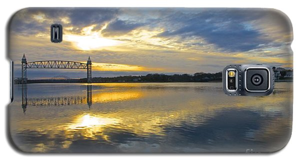 Cape Cod Canal Sunrise Galaxy S5 Case by Amazing Jules