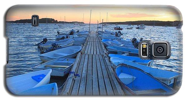 Cape Cod Harbor Boats Galaxy S5 Case