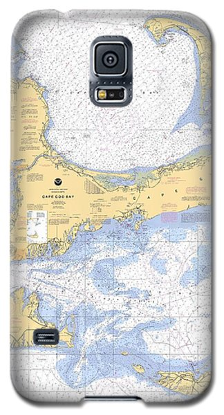 Cape Cod, Martha's Vineyard And Nantucket Nautical Chart Galaxy S5 Case