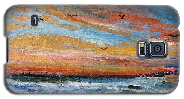 Cape Cod Sunrise Galaxy S5 Case