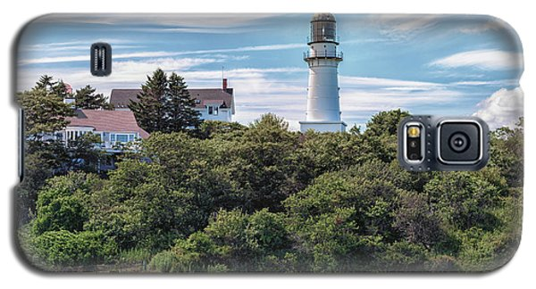 Cape Elizabeth Lighthouse Galaxy S5 Case