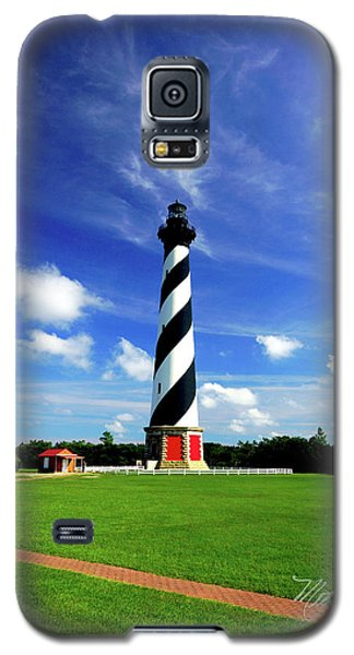 Galaxy S5 Case featuring the photograph Cape Hatteras Lighthouse by Meta Gatschenberger