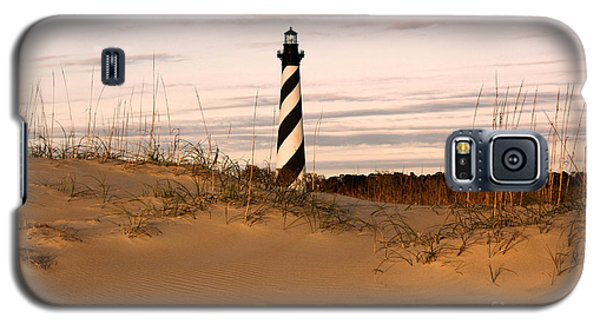 Galaxy S5 Case featuring the photograph Cape Hatteras Lighthouse by Tony Cooper