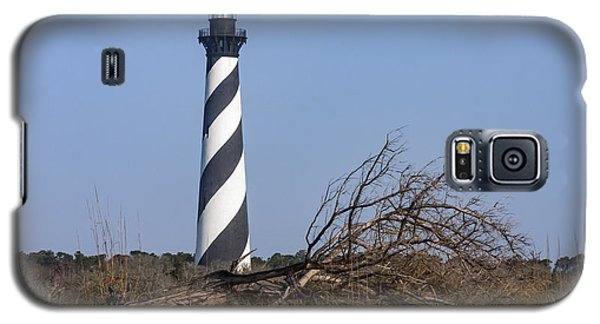 Cape Hatteras Lighthouse With Driftwood Galaxy S5 Case
