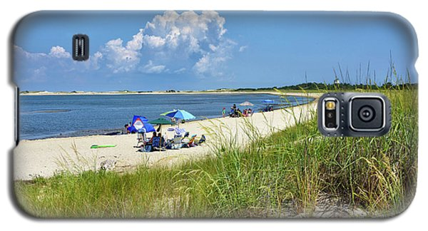 Galaxy S5 Case featuring the photograph Cape Henlopen State Park - Beach Time by Brendan Reals