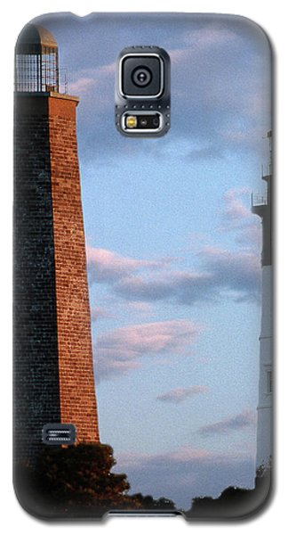 Cape Henry Lighthouses In Virginia Galaxy S5 Case