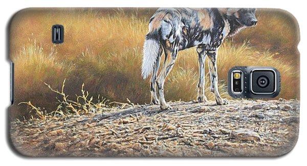 Cape Hunting Dog Galaxy S5 Case