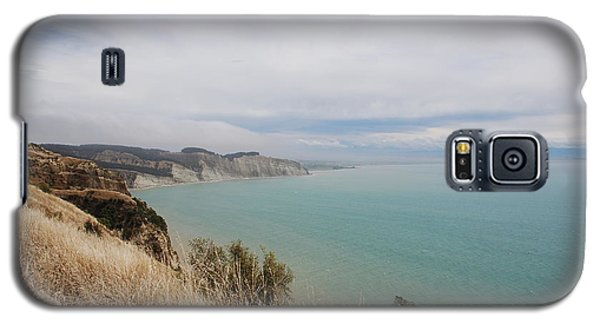 Galaxy S5 Case featuring the photograph Cape Kidnappers Golf Course New Zealand by Jan Daniels