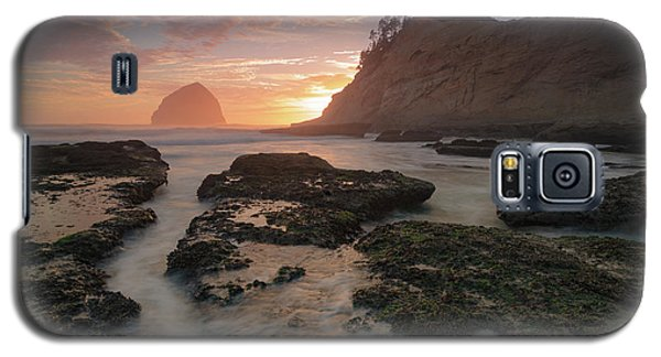 Cape Kiwanda At Sunset Galaxy S5 Case