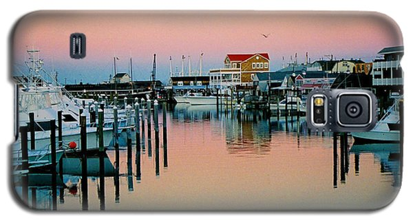 Galaxy S5 Case featuring the photograph Cape May After Glow by Steve Karol