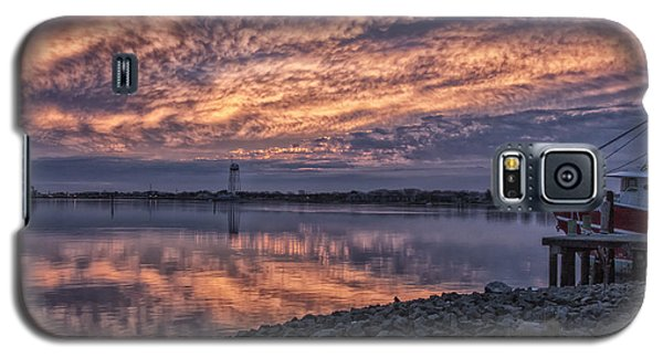 Cape May Harbor Sunrise Galaxy S5 Case
