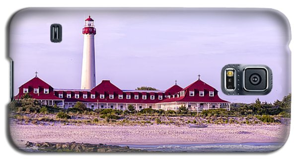 Galaxy S5 Case featuring the photograph Cape May Light House by Linda Constant