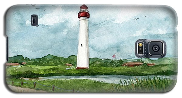 Cape May Lighthouse Galaxy S5 Case by Nancy Patterson