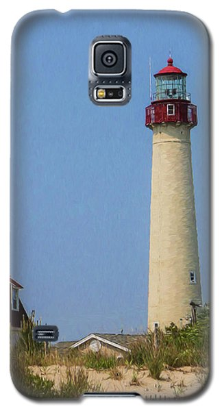 Cape May Lighthouse Vertical Galaxy S5 Case