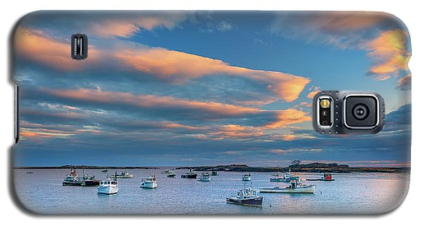 Galaxy S5 Case featuring the photograph Cape Porpoise Harbor At Sunset by Rick Berk