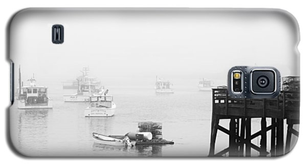 Cape Porpoise Lobster Boats In Fog Galaxy S5 Case