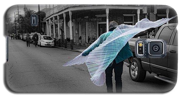 Caped Street Dancer On Frenchmen Street Galaxy S5 Case