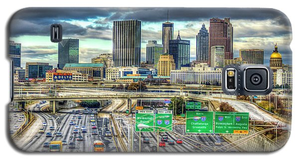 Capital Of The South Atlanta Skyline Cityscape Art Galaxy S5 Case