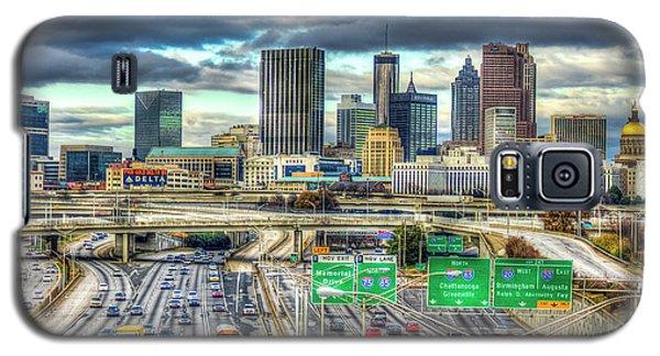 Capital Of The South Atlanta Skyline Cityscape Art Galaxy S5 Case