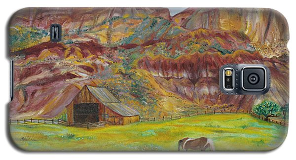 Capital Reef Pasture Galaxy S5 Case