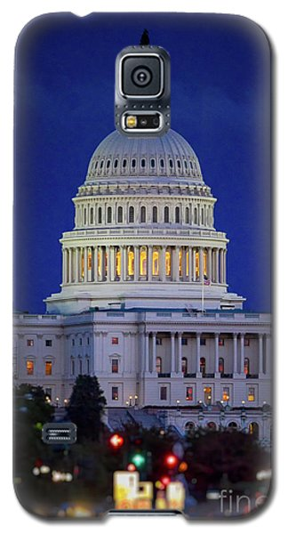 Capitol At Dusk Galaxy S5 Case