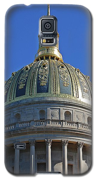 Capitol Dome Charleston Wv Galaxy S5 Case by DigiArt Diaries by Vicky B Fuller