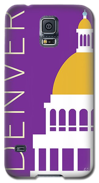 Denver Capitol/purple Galaxy S5 Case