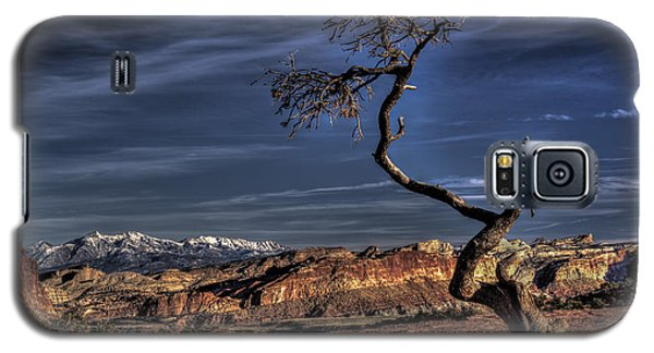 Capitol Reef Loner Galaxy S5 Case